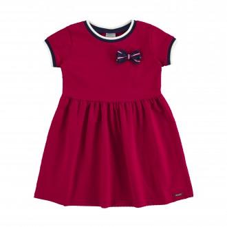 Imagem - Vestido para Bebê de Malha Nikko - Alakazoo! - 1393736_17563--VERMELHO STOP