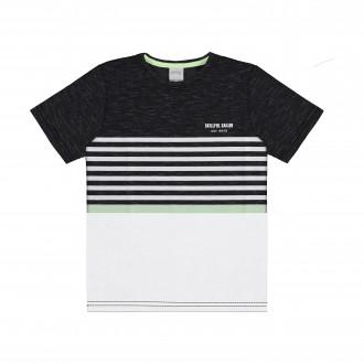 Imagem - Camiseta Infantil de Malha - Alakazoo! - 1393730_156-PRETO REATIVO