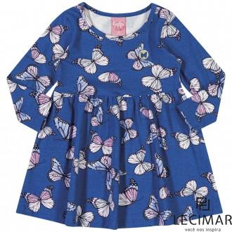 Vestido Cotton Stretch Feminino Lecimar