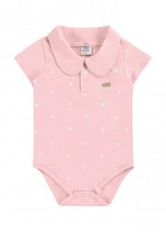 Imagem - Body Feminino De Cotton Gola Polo - MARLAN - 494302_RS0123---ROSA SOFT