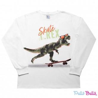 Imagem - Camiseta Malha Masculino Pulla Bulla - 2037073_BRANCO-BRANCO