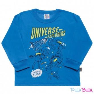 Camiseta Meia Malha Pulla Bulla