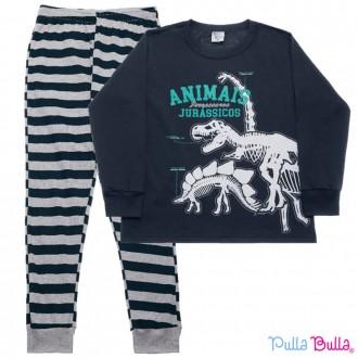 Imagem - Pijama Masculino Malha Pulla Bulla - 2037077_marinho-marinho