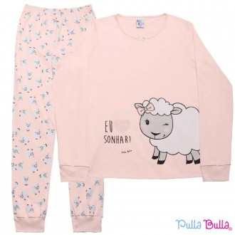 Imagem - Pijama Malha Feminino Pulla Bulla - 2037078_ROSE-ROSE