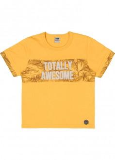 Imagem - Camiseta Masculina Meia Malha Infantil - MARLAN - 494257_AM0033-GEMADA-AM0033-GEMADA