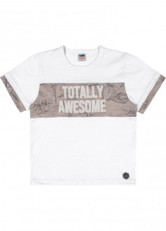Camiseta Masculina Meia Malha Infantil - MARLAN