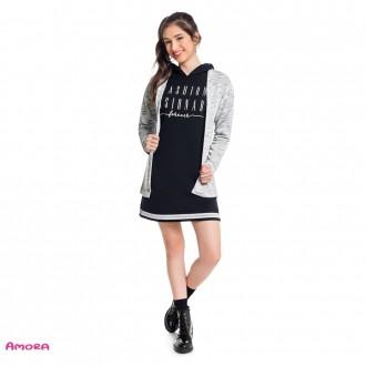 Imagem - Cardigan de tricot juvenil - AMORA - 1031909_9010-PRETO