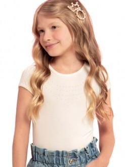 Blusa Feminina Infantil De Cotton - Milli e Nina