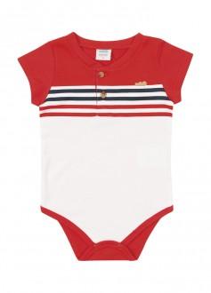 Body Suedine Masculino Para Bebê - MARLAN