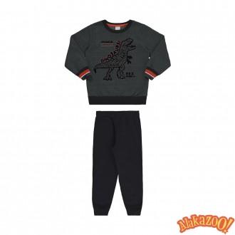 Imagem - Conjunto Masculino Infantil Moletom Alakazoo - 1393643_013217-VERDE FURIA