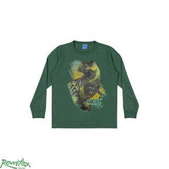 Camiseta Meia Malha Masc Infantil Romitex