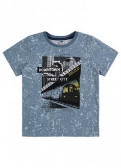 Imagem - Camiseta Masculina Malha Flamê Infantil - MARLAN - 494263_AZ0105-NAVAL-AZ0105-NAVAL