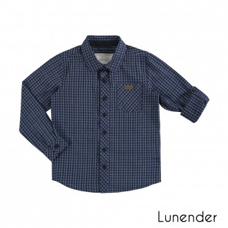 Imagem - Camisa Manga Longa Masculino Tricoline Lunelli - 1393497_16062-MARINHO ACTION