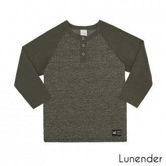 Imagem - Camiseta Meia Malha Mouline Lunelli - 1393500_7129-VERDE  SILVESTRE