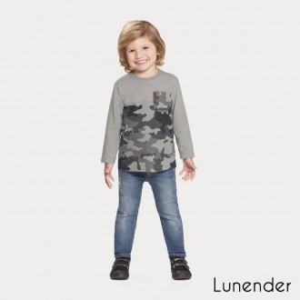 Imagem - Camiseta Malha Masculino Lunelli - 1393501_3268-MESCLA MEDIO