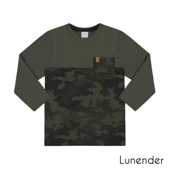 Camiseta Malha Masculino Lunelli