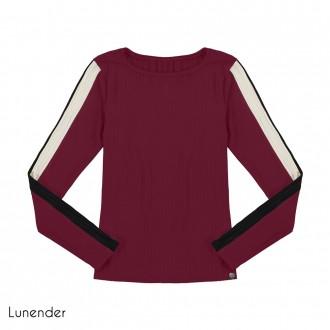 Blusa Malha Canelada Lunender