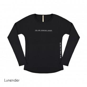 Blusa de Malha Crepe Lunender
