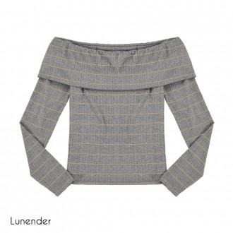 Blusa Canelada Feminina Lunender