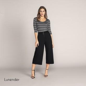 Blusa Malha 3/4 Lunender