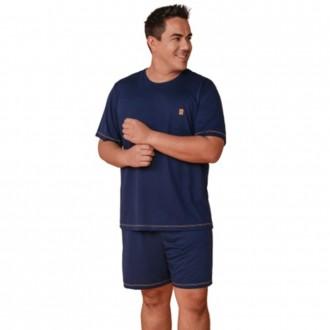 Imagem - Pijama Masculino Plus Size - DANKA - 1060070_00031-MARINHO-00031-MARINHO