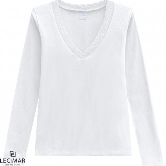 Blusa Cotton Stretch Lecimar