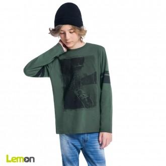 Imagem - Camiseta manga longa - LEMON - 1031913_70121-VERDE BAMBU