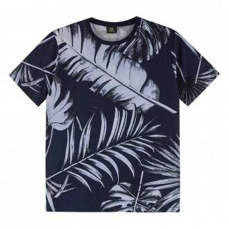 Imagem - Camiseta Malha Estampada Masculino Juvenil Lemon - 1532271_6826-MARINHO