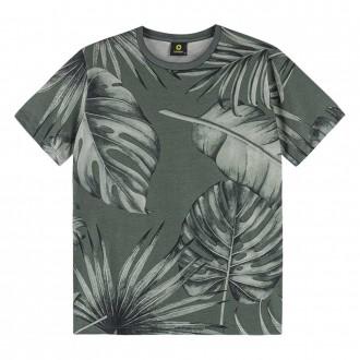 Camiseta Malha Estampada Masculino Juvenil Lemon