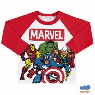 Camiseta Vingadores Masculina Infanitl Marlan