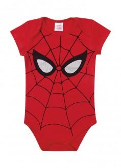 Body Masculino Suedine Avengers Para Bebê - MARLAN