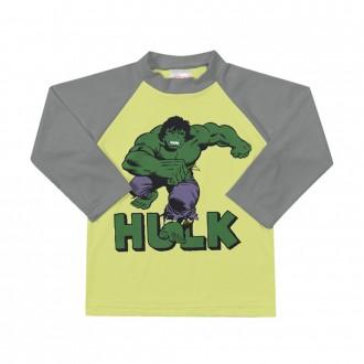 Imagem - Camiseta Marvel Tecnologia UV e DRY Masculino Infantil Marlan - 494306_AMARELO FLUOR-AMARELO FLUOR