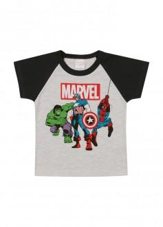 Camiseta Masculina Vingadores Para Bebê - MARLAN