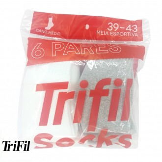 Kit 6 pares de meias - Trifil