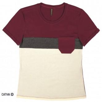 Imagem - Blusa de meia malha básica - CATIVA - 977366_4803-BORDO-4803-BORDO