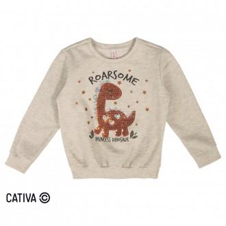 Imagem - Conjunto de moletom para bebês - CATIVA - 10686_1140-MESCLA