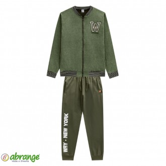 Conjunto Juvenil Estampa New York Abrange - Way