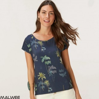 BLUSA  VISCOSE STRETCH - MALWEE