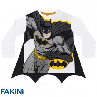 Camiseta do batman com capa - FAKINI