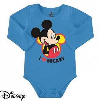 Body Mickey Masculino em Cotton Disney - Marlan