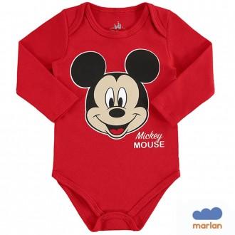 Imagem - Body Masculino Sudiene Mickey Disney - Marlan - 494216_VR0031-TOMATE