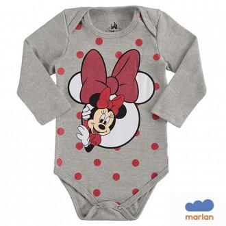 Imagem - Body Sudiene Feminino Minnie Disney - Marlan - 494243_CZ0017-MESCLA STONE