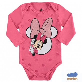 Body Sudiene Feminino Minnie Disney - Marlan