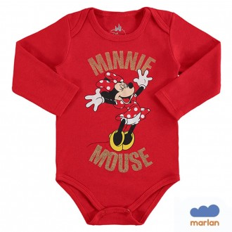 Body Feminino Sudiene Feminino Infantil Miney Disney - Marlan