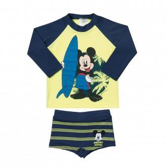 Conjunto Mickey Tecnologia UV e DRY Masculino Infantil Marlan