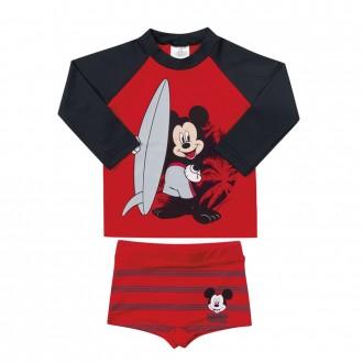 Imagem - Conjunto Mickey Tecnologia UV e DRY Masculino Infantil Marlan - 494304_TOMATE-TOMATE