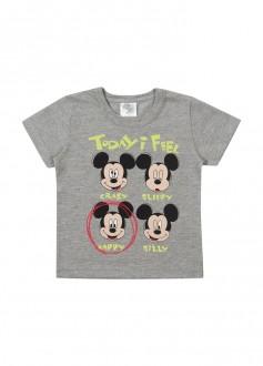Imagem - Camiseta Masculina Mickey Para Bebê - MARLAN - 494265_CZ0017---MESCLA STONE