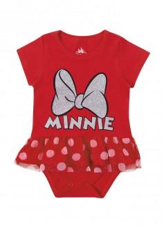 Body Feminino Minnie Para Bebê - MARLAN
