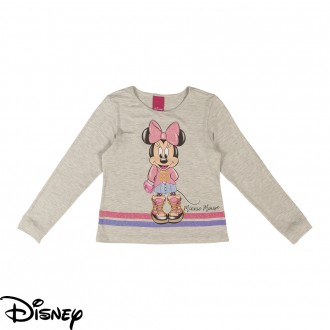 Imagem - Blusa Infantil Feminina Disney - Cativa - 10671_1140-MESCLA
