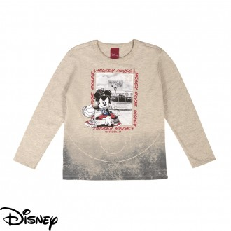 Imagem - Camiseta Masculina Meia Malha Disney - Cativa - 10675_1140-MESCLA